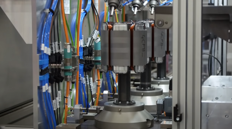 BMW Electric Motors and Transmissions Production
