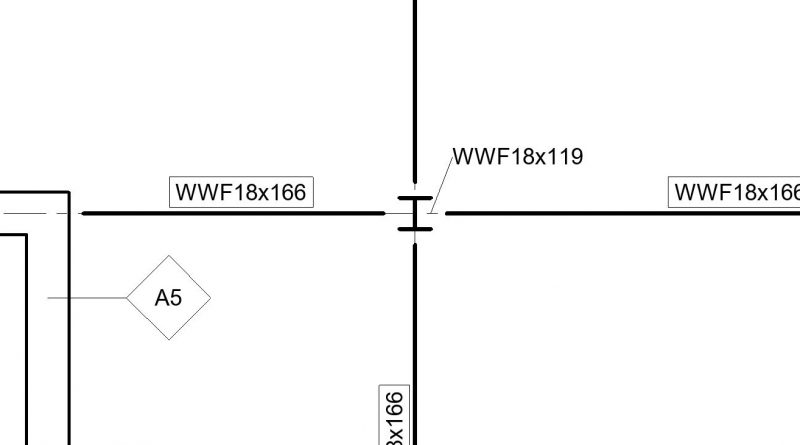 How to change the size of structural beams and Tag structural columns, beams, shear walls, in Revit 2021