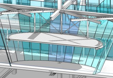 How to model Curved Beams and slanted columns with 3D snapping
