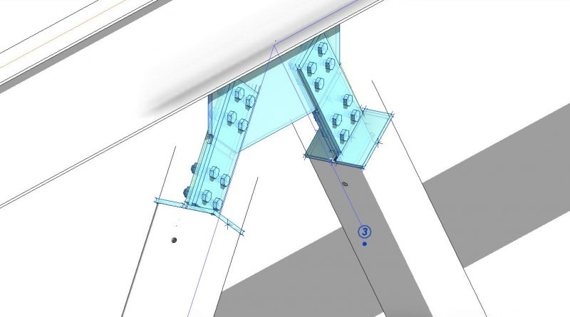 How to place Revit Structural connections & Bracing